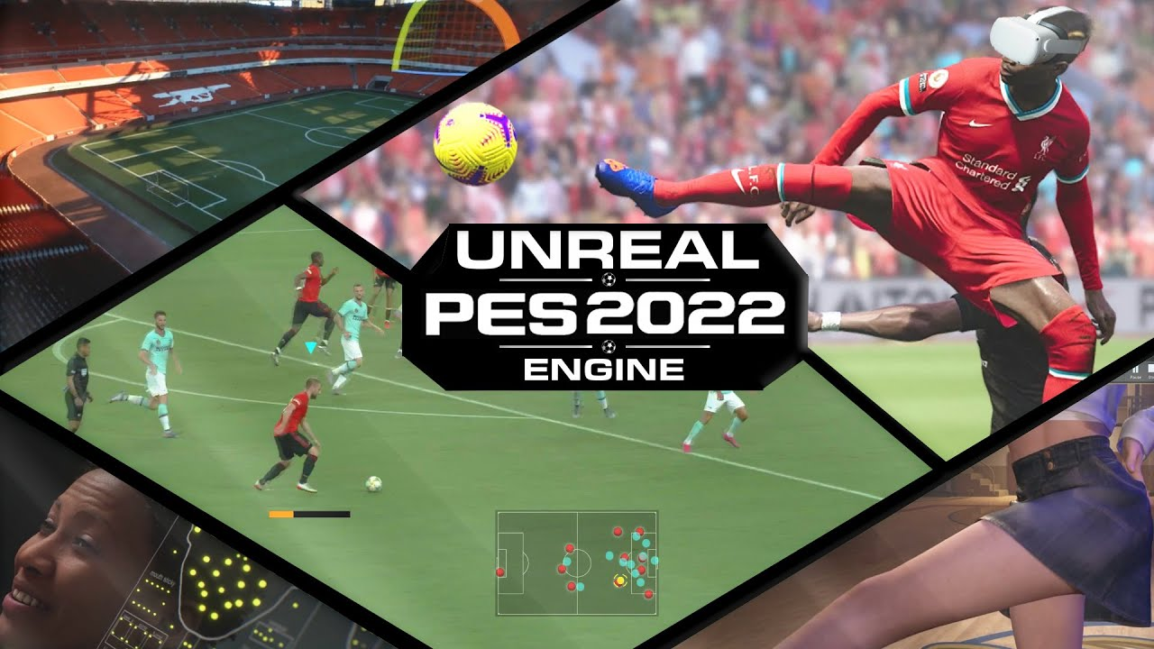 TOP Unreal Features for Next-Gen PES 2022 - YouTube