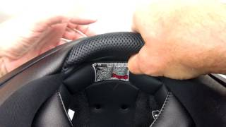 How to Remove the Neck Roll from the Scorpion Covert Helmet STARNSANDSONS.COM