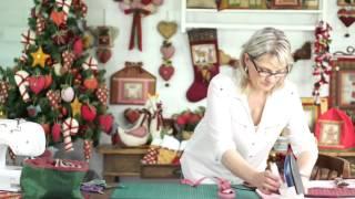 Guardanapo Porta talheres Árvore de Natal em 10 minutos -molde grátis