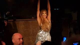 Valentina, Piel Morena (Thalía)  at Club Backdoor, Stockholm. Produced by Clean Group.