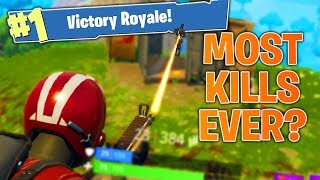 Getting My Most Kills Ever? Fortnite Battle Royale Nintendo Switch