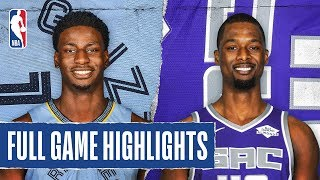GRIZZLIES at KINGS   FULL GAME HIGHLIGHTS   February 20, 2020