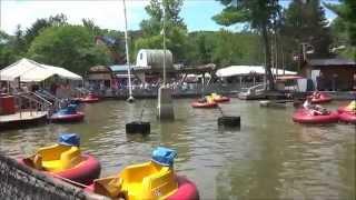 Former Rocky Glen Amusement Park bumper boats