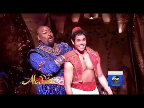 Aladdin on Broadway Performs NEW 'Friend Like Me' LIVE on GMA