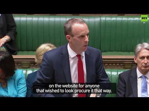 Speaker suspends Commons over Brexit White Paper farce