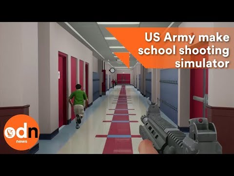 US Army make school shooting simulator for saving lives
