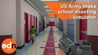 US Army make school shooting simulator for saving lives