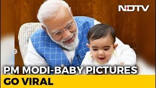 PM Modi Plays With A Baby In Parliament, Shares Photos On Instagram