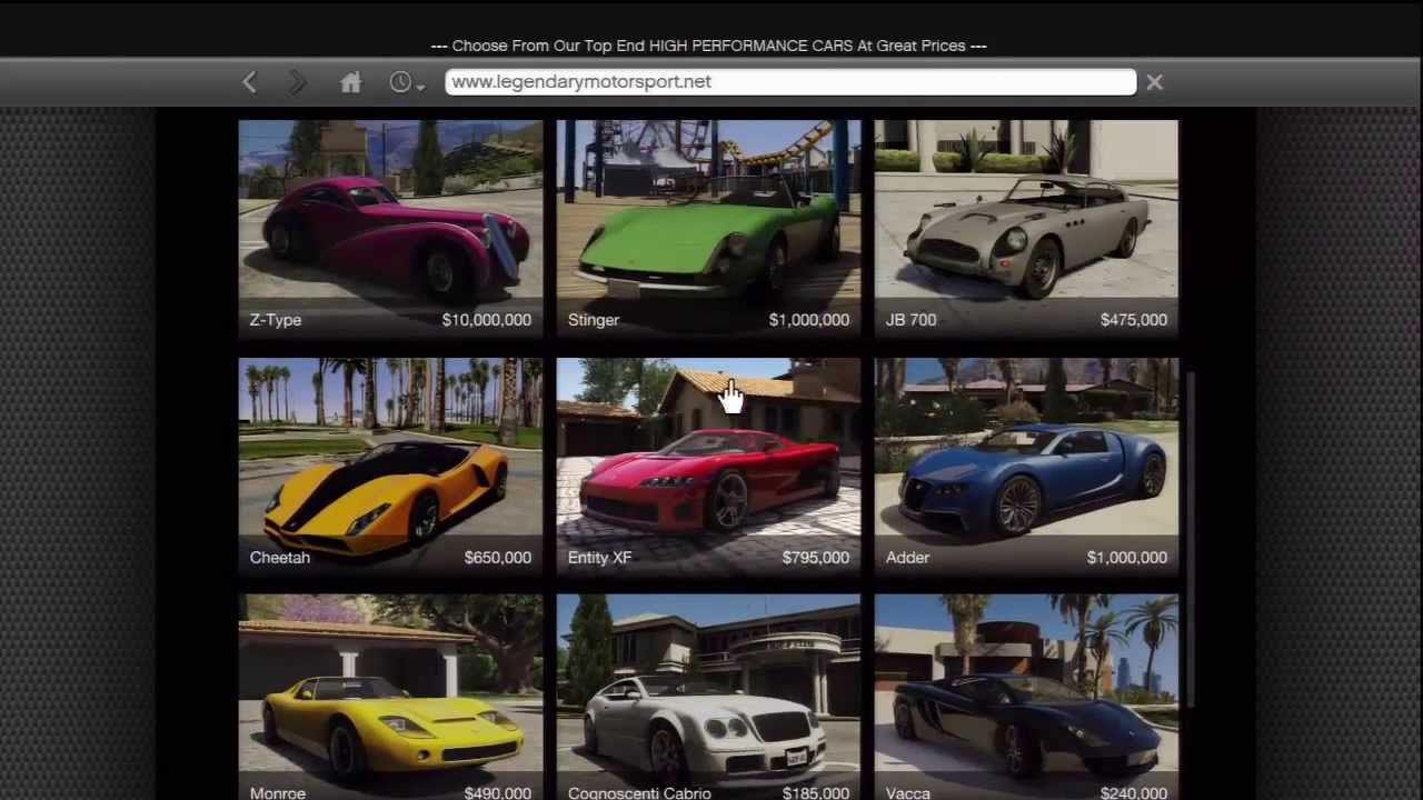 How To Get All Legendary Sport Cars