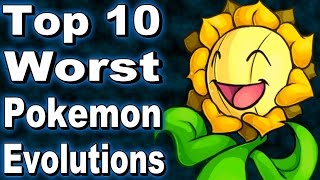 Top 10 Worst Pokemon Evolutions