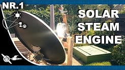 Solar steam engine #1