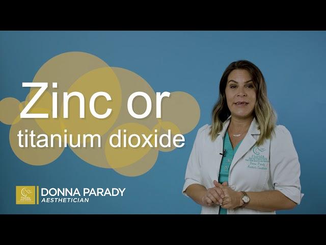 Donna Parady, Aesthetician: Sunscreen Advice