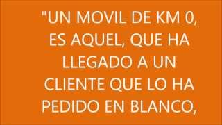 ORANGE, MOVIL DE KM 0