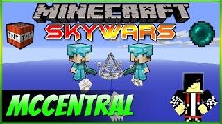 minecraft skywars jogando na mccentral
