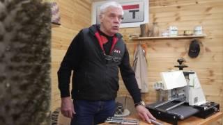Обзор Барабанный шлифовальный станок JET 10-20 Plus. Подготовка к работе.