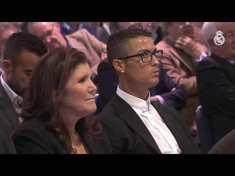 """Florentino Pérez: """"Cristiano, eres el símbolo del mejor club de la historia del fútbol"""