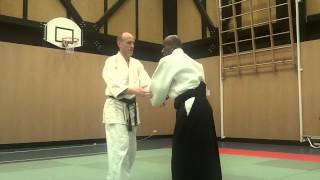 Joe Thambu Sensei Aikido Session - Break Balance First