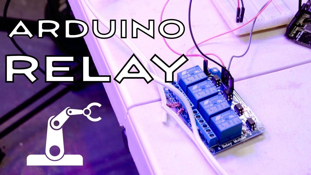 how to use an arduino relay module [ 1280 x 720 Pixel ]