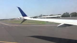 Landing in el salvador from houston  03/19/16