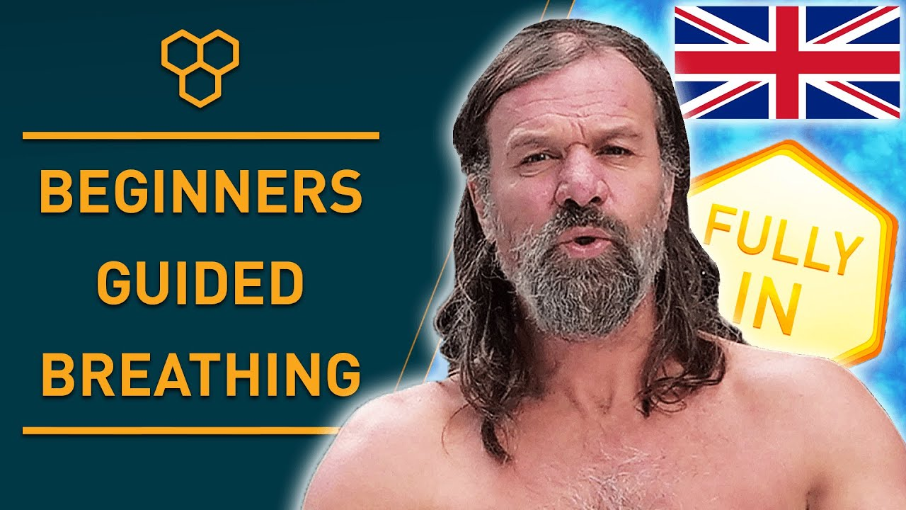Wim Hof Method Guided Breathing for Beginners 3 Rounds Slow Pace
