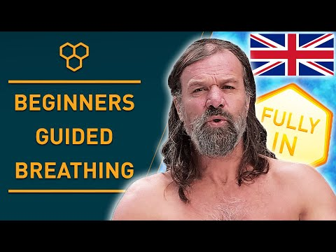 Wim Hof Method Guided Breathing For Beginners (3 Rounds Slow Pace)