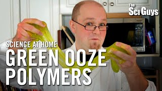 The Sci Guys: Science at Home - SE1 - EP4: Exploring Polymers by Making Borax Ooze - Borax Slime