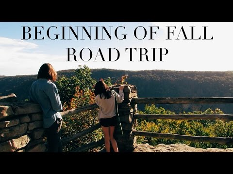 cooper's rock state forest: road trip to west virginia