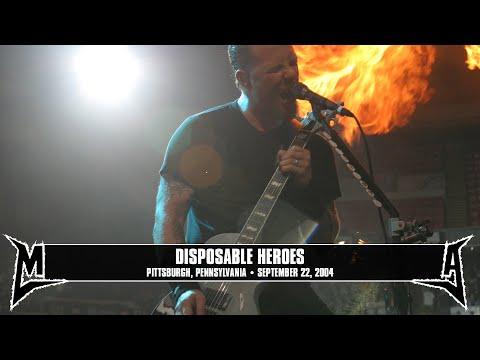 Metallica: Disposable Heroes (MetOnTour - Pittsburgh, PA - 2004) Thumbnail image