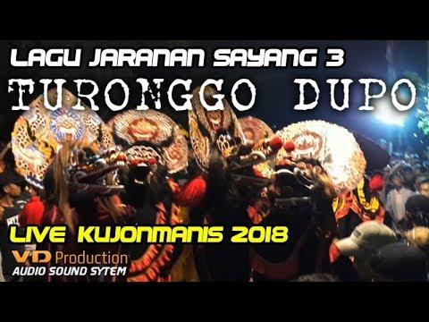 SAYANG 3 Lagu Jaranan Hits Versi TURONGGO DUPO Live Kujonmanis Warujayeng 2018