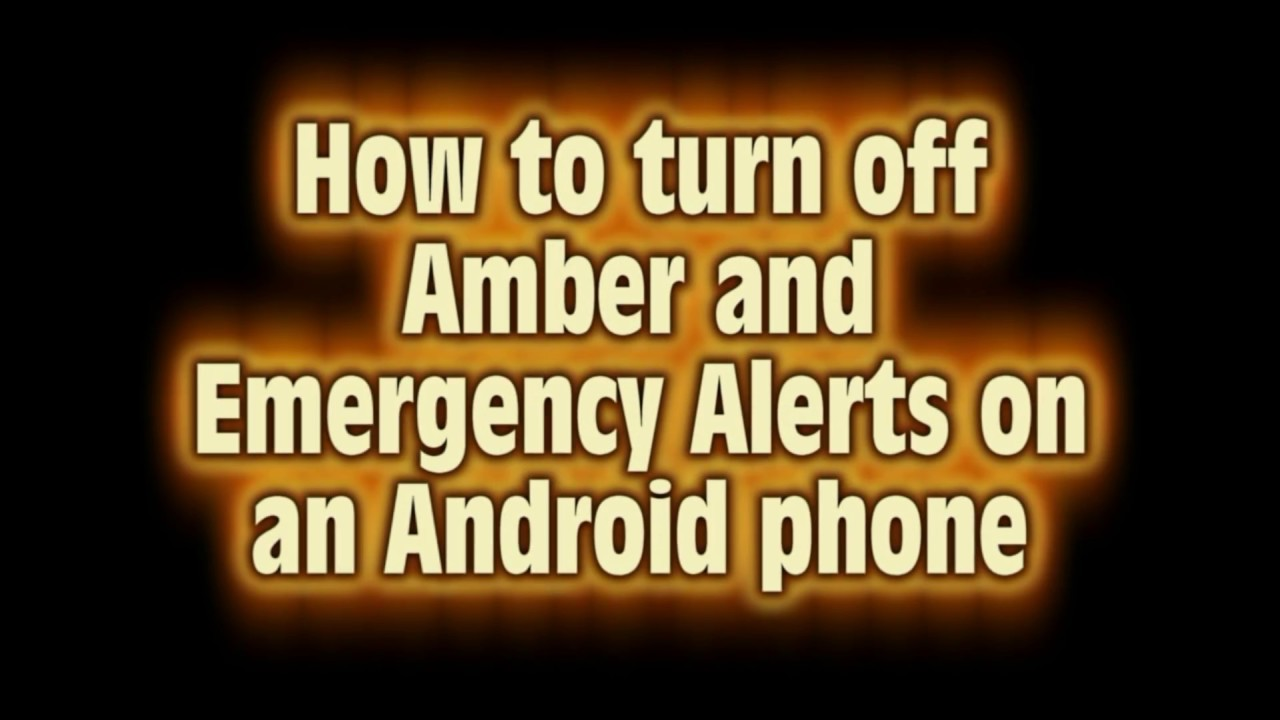 how to receive emergency alerts