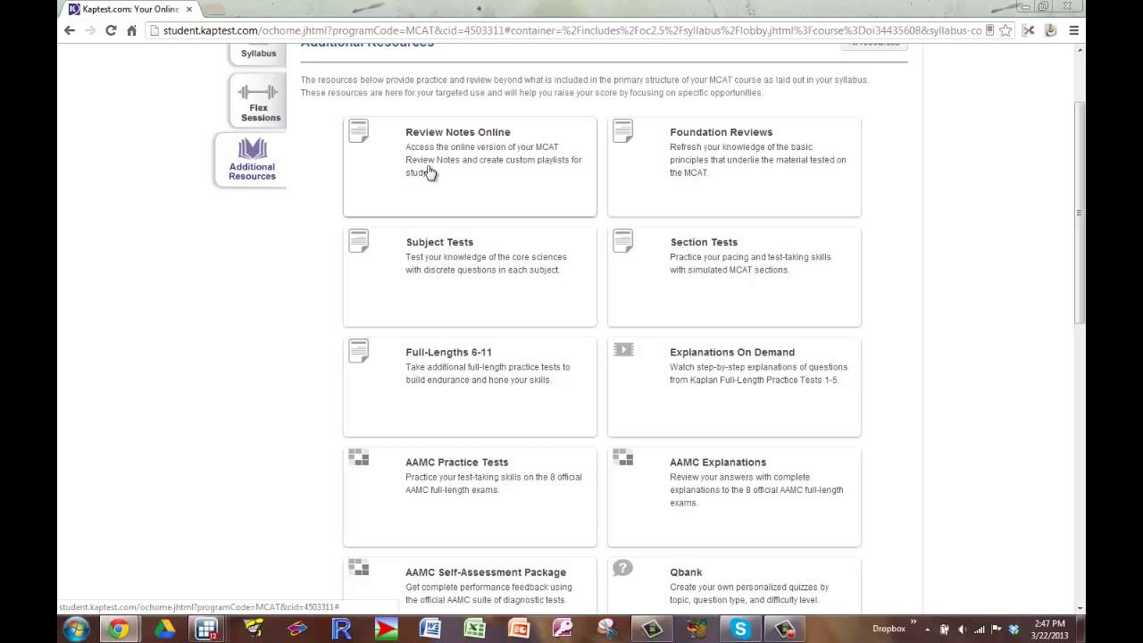 Kaplan Smart Reports and Topic Resources
