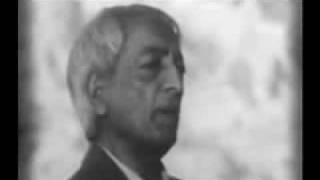 Jiddu Krishnamurti Start @ Zeitgeist Addendum