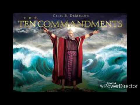the ten commandments soundtrack