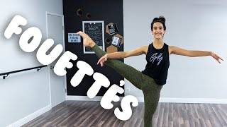 How To Do Fouettés I Dance Turn Tutorial @MissAuti