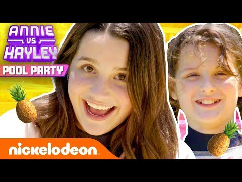 annie-&-hayley-throw-a-summer-pool-party-w/-katie-donnelly!-⛱️-pool-party---ep.-1-|-nick