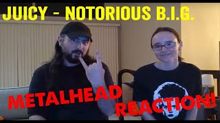 Juicy - Notorious B.I.G. (REACTION! by metalheads)