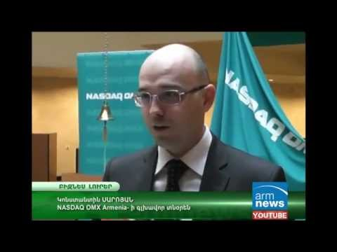 NASDAQ OMX Armenia supported organization of Student Stock Exchange Game