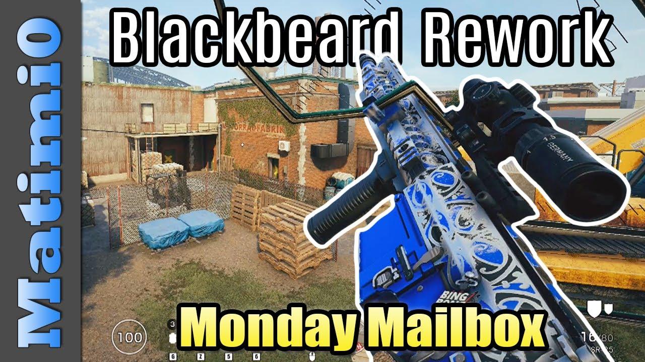 Clever Blackbeard Rework - Monday Mailbox - Rainbow Six Siege thumbnail