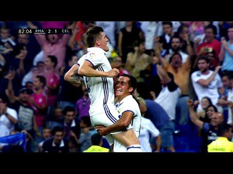 Toni Kroos vs Celta de Vigo (H) 16-17 1080i HD (27/08/2016)