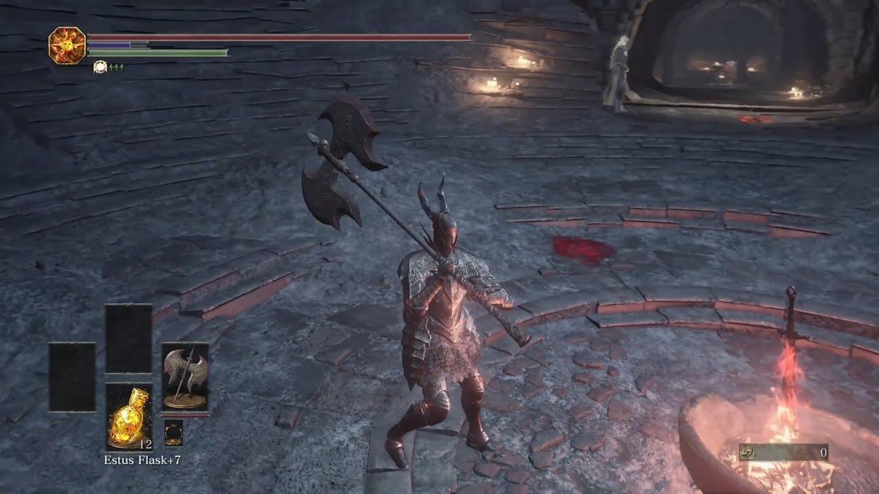 how to kill black knight dark souls