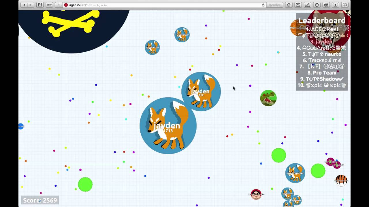 How To Get Big In Agar.io Fast! (While Teaming) - YouTube