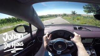 Porsche Panamera GTS 440hp POV test drive GoPro