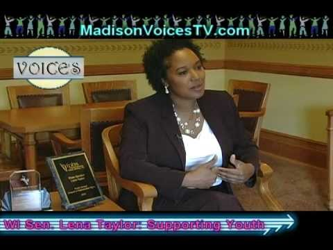 Sen. Lena Taylor Shares Experience, Strength, Hope for Our Youth