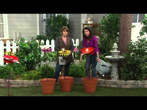 "Desert Steel 36"" Outdoor Garden Flower Torch on QVC"