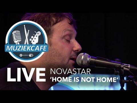 Novastar - 'Home Is Not Home' live bij Muziekcafé