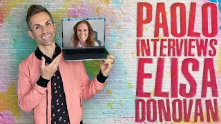 "Elisa Donovan talks new memoir ""Wake Me When You Leave"""