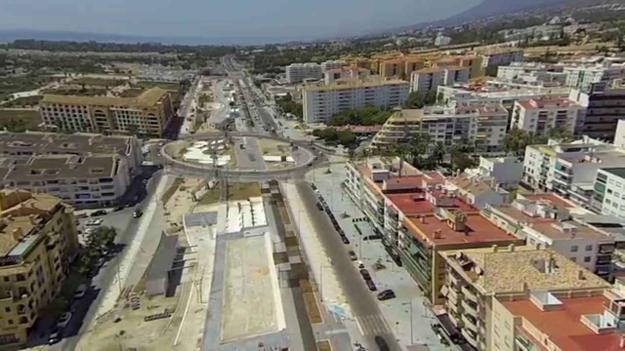 Obras bulevar de san pedro alc ntara marbella youtube - Habitantes san pedro de alcantara ...