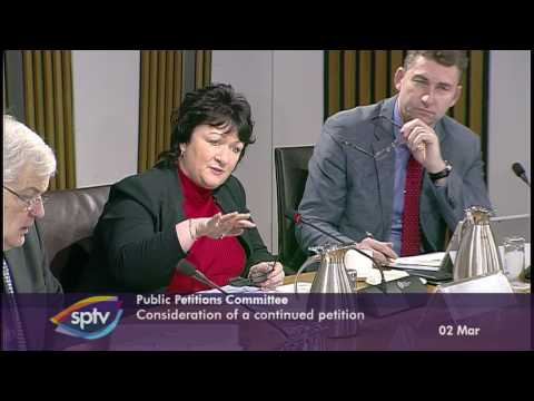 Public Petitions Committee - Scottish Parliament: 2nd March 2017