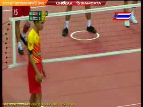 ตะกร้อชายไทย-มาเลเซีย ซีเกมส์ 2013