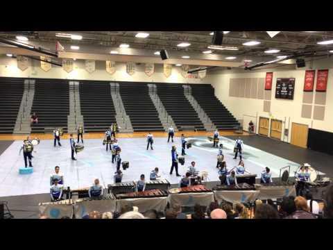 Woodbridge Viking Indoor Percussion Finals Run - March 12, 2016 @ Powhatan HS